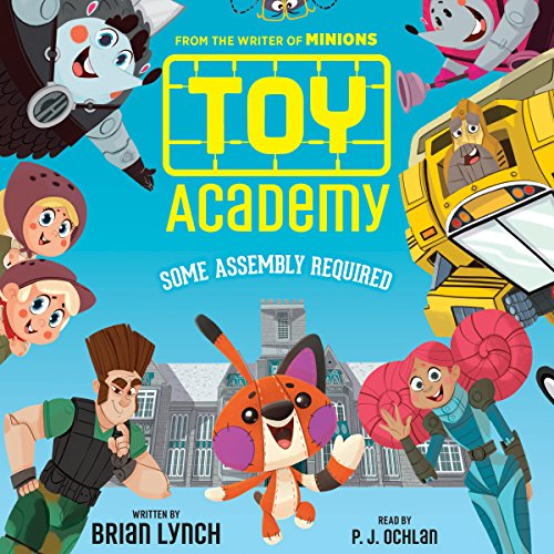 Toy Academy audiobook cover art