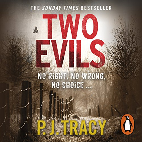 Two Evils audiobook cover art