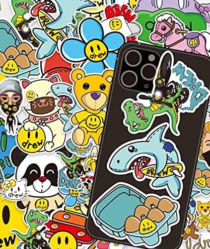 Later Justin Bieber Sticker Smiley drewhouse etiqueta engomada maleta equipaje etiqueta engomada 42pcs