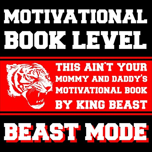 Motivational Book Level Beast Mode audiobook cover art