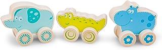 New Classic Toys – 11820 – Leksaksfordon – safarisdjur på hjul