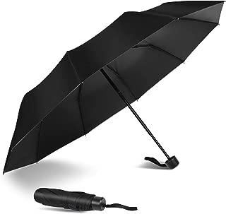 Oveatube Mini Compact Travel Umbrella - Lightweight Portable Umbrella with Case