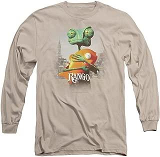 Rango Poster Art Adult Long Sleeve T-Shirt