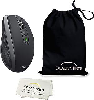 لوجيتك MX Anywhere 2S ماوس لاسلكي (بلوتوث أو يو اس بي) صورة حقيبة سفر (عبوة واحدة)