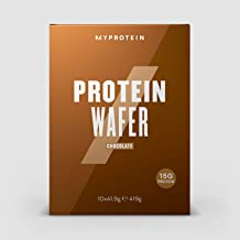 MY PROTEIN Protein Wafers Snack Chocolate Pack of 10 Total 419 gm Estimated Price : £ 17,99