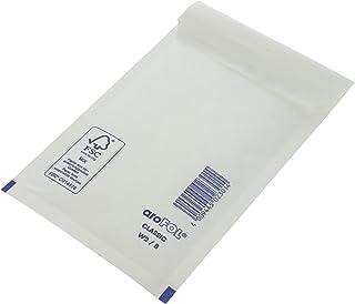 AroFOL 600 Stück Luftpolstertasche Größe B, 140 x 225 mm in Weiß B017KQ8328  Online-Verkauf