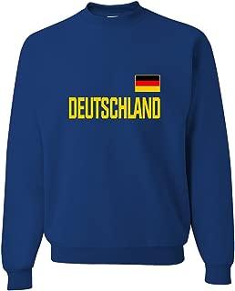 Go All Out Adult Team Germany Deutschland Pride Sweatshirt Crewneck