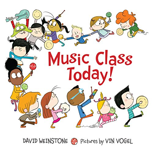 Music Class Today! audiobook cover art