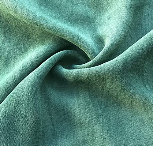 54' 100% Tencel Lyocell Cupro Georgette 4.5 OZ Light Apparel Woven Fabric by The Yard Active Restock Requests: 0 (Pine Green)
