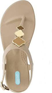 OkaB Lilo Flip Flop Sandal Shoes with Ankle Strap