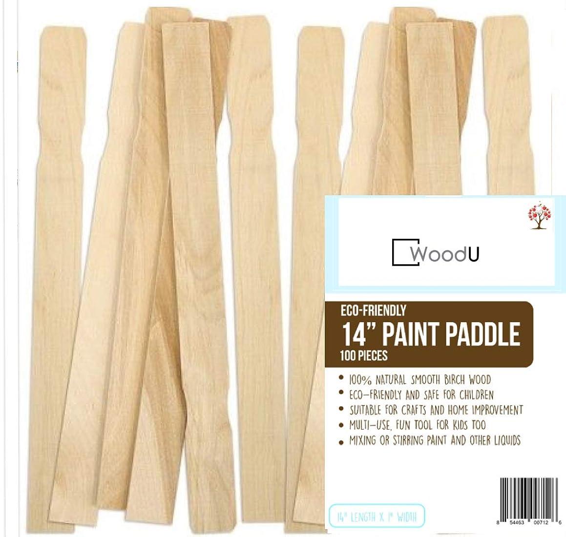 Wooden Paint Stir Sticks 14