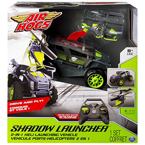 Air Hogs 6026326 - Shadow Launcher Infiltrator