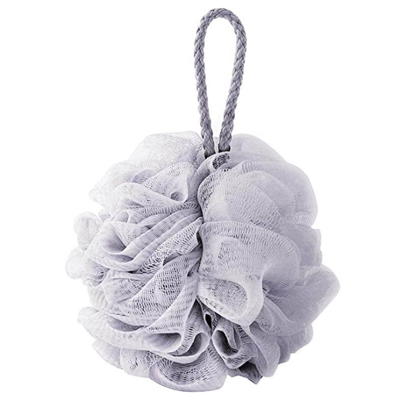 壮大思い出させるクライストチャーチcomentrisyzソフトシャワー入浴ボールブラシ泡泡ネットボディスクラブ洗浄ツール - ブルー