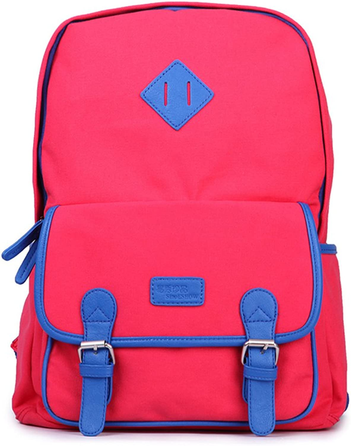 Candycolord canvas shoulder bags Fashion school bags Sport BackpackC