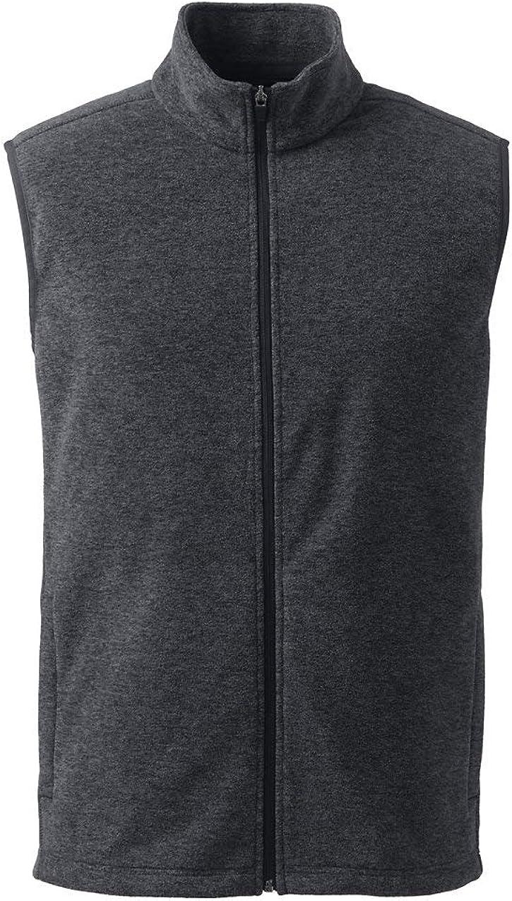 Lands' End Men's Thermacheck 100 Fleece Vest