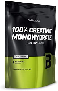 Biotech USA 100% Monohydrate Creatina - 500 gr