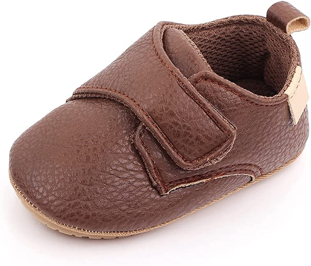 Kenthy Baby Boys Girls Infant Sneakers Non-Slip Soft Rubber Sole Toddler Crib First Walking Shoes