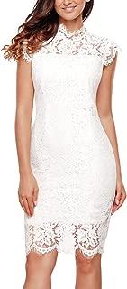 white lace dress xl