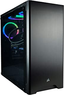 CUK Sentinel Black Gaming PC (Liquid Cooled Intel i9-9900K, 32GB RAM, 1TB NVMe SSD+ 2TB HDD, NVIDIA GeForce RTX 2080 Ti 11GB, 750W Gold PSU, Windows 10) Best Tower Desktop Computer for Gamers