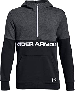 Under Armour Boys Double Knit 1/2 Zip Hoodie