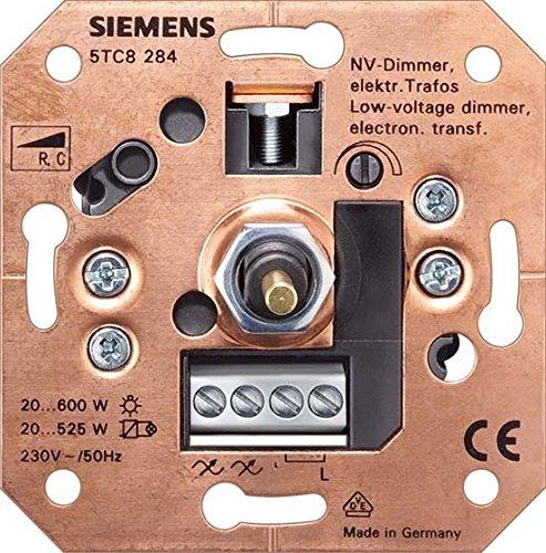SIEMENS 5TC8284 Dimmer Dreh/Druckkn 20-600W Uni