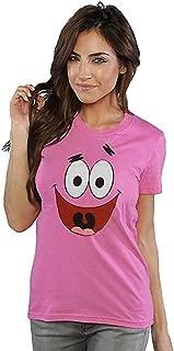 Spongebob Patrick Star Face Junior T-Shirt