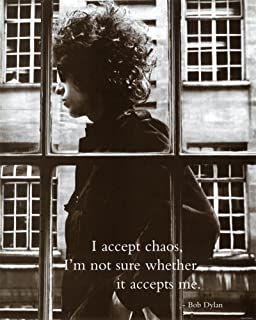 Bob Dylan I to Accept Chaos Music Poster Print Mini Poster 16 x 20in