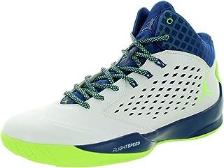 92c39c454da0 Nike Jordan Mens Jordan Rising High Wht Ghst Grn Insgn Bl Infrrd 2
