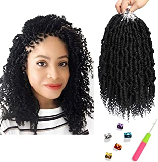 Bomb Twist Crochet Hair 6 Packs 10inch Spring Twist Braiding Hair Passion Twist Hair Pre..