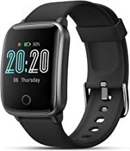 Smart Watch, LIFEBEE Smartwatch Heart Rate Monitor Fitness Tracker with 1.3' Touch Screen IP68 Waterproof Activity Trackin...
