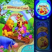 Disney Winnie the Pooh musica en casa: Disney Winnie the Pooh Music Player Storybook, Spanish-Language Edition (Disney Winnie the Pooh (SilverDolphin)) (Spanish Edition)