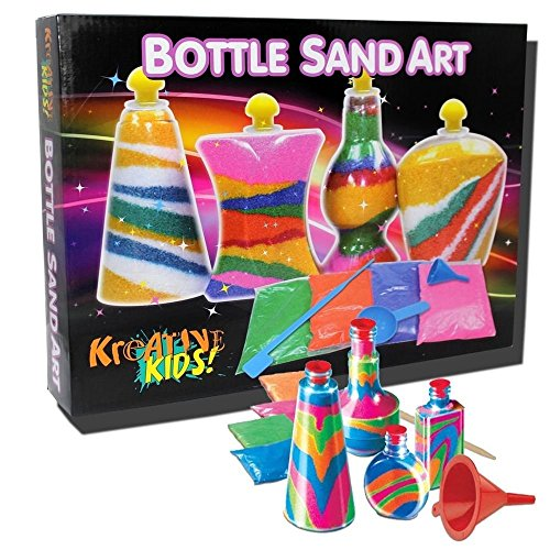 BOTTLE SAND ART(COLOUR BOX) [Toy]