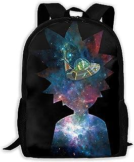 LIMING Unisex Adult Backpack Morty and Rick Bookbag Travel Bag Schoolbags Laptop Bag For Men And Women