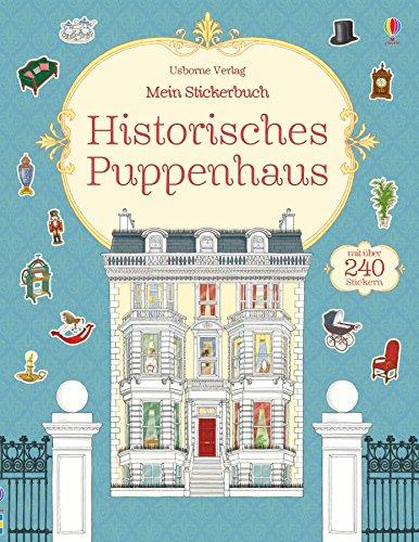 Mein Stickerbuch: Historisches Puppenhaus