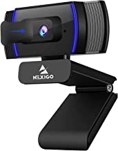 NexiGo AutoFocus 1080p Webcam with Stereo Microphone, Privacy Cover and Software Control, N930AF FHD USB Web Camera, Compa...
