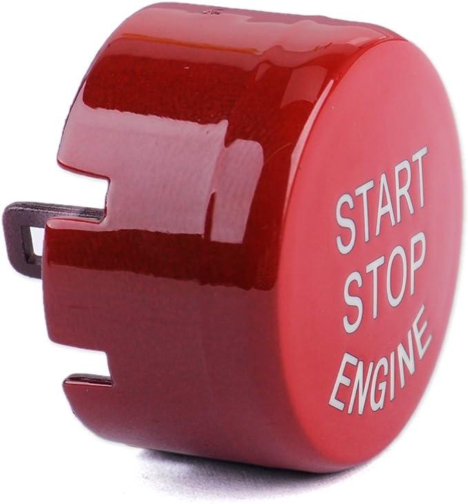 Citall Rot Start Stop Motor Taste Druckschalter Abdeckung Ersetzen Auto