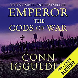 EMPEROR: The Gods of War, Book 4 (Unabridged)                   By:                                                                                                                                 Conn Iggulden                               Narrated by:                                                                                                                                 Paul Blake                      Length: 15 hrs and 22 mins     334 ratings     Overall 4.5