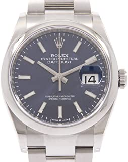 Rolex Datejust Mechanical (Automatic) White Dial Mens Watch 126200 (Certified Pre-Owned)