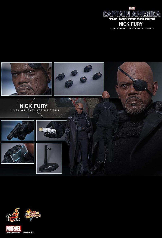 comprar descuentos Hot Juguetes MMS315 - Marvel Comics - Captain America America America The Winter Soldier - Nick Fury  barato y de alta calidad