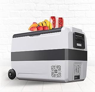 Bil kylskåp-bärbar camping kylskåp-kompressor kylskåp för lastbil, husbil, båt, camping resor-bil kylskåp 12/24V, Hem 100-...