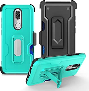 Hicaseer Case for Coolpad Legacy Brisa,3 in 1 Shockproof and Drop-Proof Kickstand Magnetic Case Built-in Carryable Credit ...