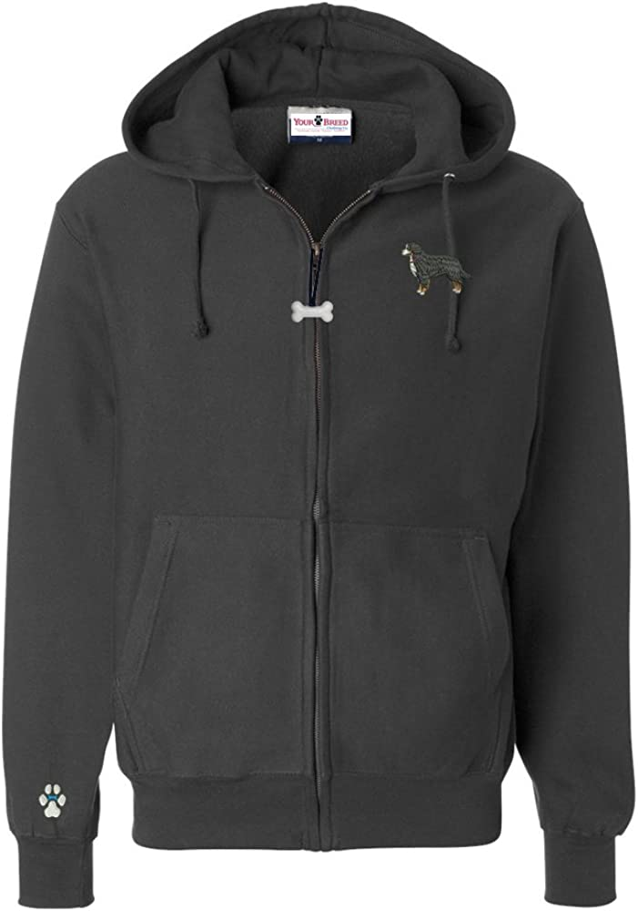 YourBreed Clothing mart Company Bernese Mountain Hoode Zip favorite Full Men's