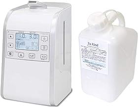 超音波噴霧器HM-201適用床面積約26畳用、微酸性次亜塩素酸水「除菌ジアカインド」50ppm 5Lセット ノズル付き