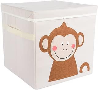 DII Nursery Storage Bin for Toys, Clothing, Books, Cube Organizers ((13 x 13 x 13