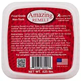 Alumilite Amazing Casting Products Amazing Remelt Clay Extruders, Red.625-Pound
