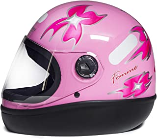 Capacete Fórmula 1 R Femme Rosa (56)