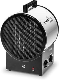 TROTEC Calefactor cerámico TDS 30 M de 5 kW Duradero, Robusto, silencioso, por Tanto óptimos para el Calentamiento de Espacios Interiores