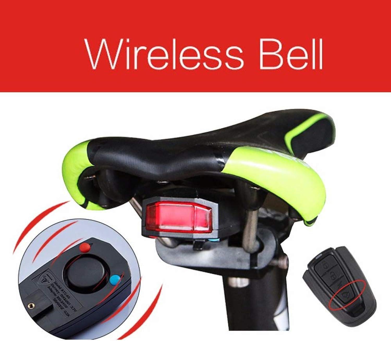 Wireless Remote Control Bike Light,2200mAh USB Rechargeable Bike Taillights, Waterproof IPX4,for Kids Men Women.