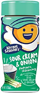 One 2.6 oz Kernel Seasons 6566 Popcorn Seasoning Sour Cream & Onion