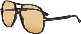 Gucci - Gafas de Sol GG0706S BLACK/YELLOW 58/16/145 hombre